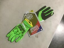 100% AIRMATIC GLOVES lime Green Sz M