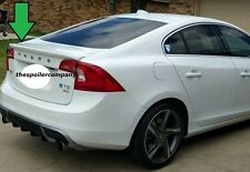 PRE-PAINTED REAR SPOILER FOR 2011-2017 VOLVO S60 4DR SEDAN-BRAND NEW ANY COLOR