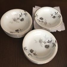"Vintage Noritake Rosamor 5851 Fruit or Dessert Bowl 5 1/2"" Japan - Lot of 12"