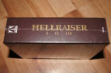 hellraiser I II III arrow video blu-ray clive barker's box