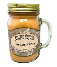 Caramel Pecan Scented Candle in 13 oz Mason Jar by Our Own Candle Company
