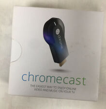 Google Chromecast HDMI Streaming Media Player  - Black