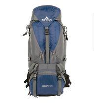 Mountain Warehouse Inca extrême en bleu avec rembourré treillis arrière 35 L
