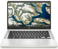 NEW HP 14 Chromebook Intel Dual Core 2.6GHz 32GB eMMC 4GB RAM Chrome OS Silver