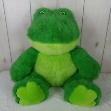"Frog Plush Stuffed Animal King Plush LARGE 33"" Kids Pal Childrens Friend"