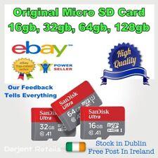 Sandisk Micro SD Card 16gb 32gb 64gb 128gb TF Class 10 High Speed A1 Memory Card