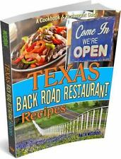 Texas Back Road Restaurant Recipes (State Back Road Restaurants Cookbook...