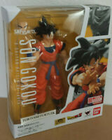 Bandai S.H.Figuarts Dragon Ball Son Goku A Saiyan Raised on Earth Action Figure