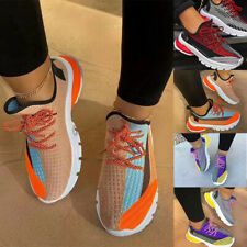 Women's Lace Up Sports Shoes Bottom Low Top Casual Outdoor Breathable Sneakers