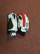 "Mb Malik ""Gold Cricket Batting Gloves"