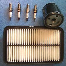 FOR TOYOTA CELICA 1.8 01 02 03 04 05 SERVICE PARTS KIT OIL AIR FILTER PLUGS VVTI
