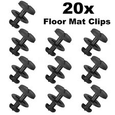 20x Clips Fijación Alfombrillas For BMW E36 E46 E38 E39 Alfombras Interior Auto