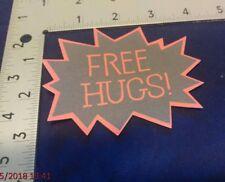 FREE HUGS! - Printed Die Cut - scrapbook, cards, crafts