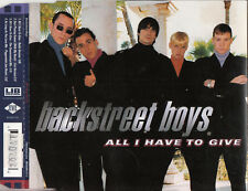 BACKSTREET BOYS All I Have To Give CD Single - New