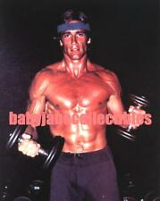 BARRY VAN DYKE RED HOT MUSCLE BEEFCAKE WORK OUT photo (bv15)