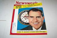 OCT 1 1956 NEWSWEEK magazine NIXON