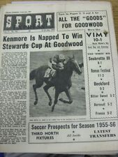 "22/07/1955 Sport Express Magazine: Vol.17, No.393 - ""Kenmore Is Napped To Win St"