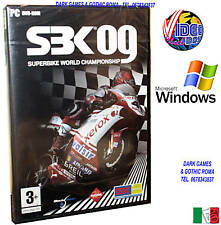 SUPERBIKE WORLD CH. 09 SBK PC NUOVO ITALIANO DVD @@ WIN