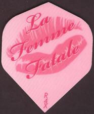 """""""La Femme Fatale"""" Dart Flights: 3 per set"""
