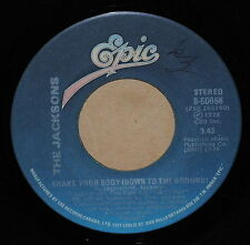 The Jacksons Shake Your Body / Thats What You Get 1978 R+B 45 on Epic