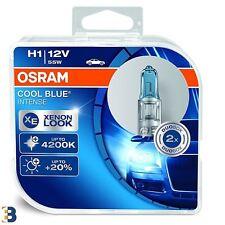 Osram H1 Genuine Cool Blue Intense 12V 55W Halogen Headlight 64150CBI-HCB 4200K