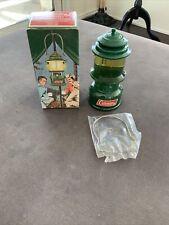 Vtg 70s Avon Coleman Lantern Camping Rv Full 5 oz Wild Country Cologne W/Box Nos