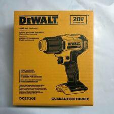 Dewalt DCE530B  20 volt Heat Gun Bare tool New in box 2 Day Shipping