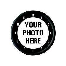 CUSTOM PERSONALISED PROMOTIONAL PHOTO LOGO WALL CLOCK GIFT