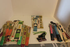 HUGE LOT OF VINTAGE METAL ZIPPERS, Polyester and Nylon Coil Coats & Clark-Talon