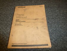 Caterpillar Cat 960F Wheel Loader w/ 3116 Deisel Engine Parts Catalog Manual