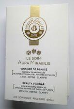 ROGER & GALLET LE SOIN AURA MIRABILIS VINAIGRE DE BEAUTE VISAGE 9 x 3 ML NEUFS