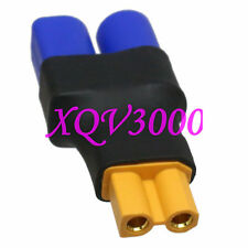 Direct connect: Xt30 Female to Ec3 Male Adapter For Rc Turnigy Lipo Battery