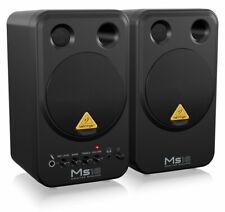 "Behringer MS16 Aktivlautsprecher-System Paar 16W Personal Monitor 4"" Bass Studio"