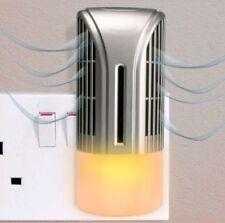 Air Purifier Night Light Plug In Ionizer Freshener Negative Ioniser Ionic Plasma