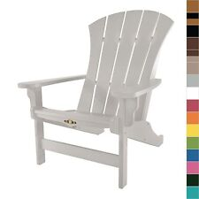 Pawleys Island Sunrise Adirondack Resin Durawood Chair Outdoor Furniture