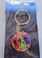 Elvis Presley / Orig. Key ring Jewelry / New / Great Mothers Day 1 3/8 x 1 3/8""