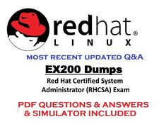RHCSA EX200 Red Hat Certified System Administrator  Exam Q&A + Simulator