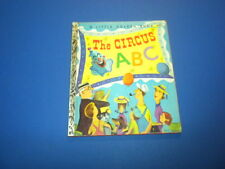 THE CIRCUS ABC Little Golden Book 1955 First Printing (A)
