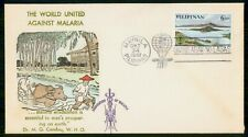Mayfairstamps Philippines FDC 1962 World Against Malaria Men With Cow First Day