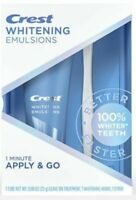 Crest Whitening Emulsions Leave On Whitening Treatment New Exp: SEPT 2022