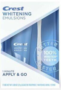 Crest Whitening Emulsions Leave On Whitening Treatment 0.88 0z New Exp. 08/2022