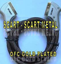 CABLE SCART-SCART 3m. VP-1300 CONECTORES METAL DORADOS