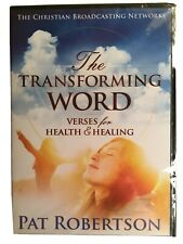 The Transforming Word Verses For Health & Healing DVD Pat Robertson - New Sealed