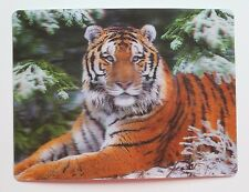 3D Moving Tiger Big Cat Vintage 80s Postcard