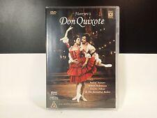Don Quixote Australian Ballet DVD - RARE Region 4 Aust -RUDOLF NUREYEV
