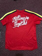 BBC Billionaire Boys Club Baseball Jersey Size Large red