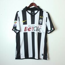 Nike Juventus Men s Small Dri-Fit Serie A Football 2010-11 Home Jersey  Signed a1bd56f79b70e