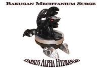 Bakugan Kugel Black Darkus Alpha Hydranoid 4 Saison Bakugan Mechtanium Surge Neu