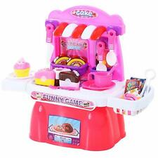 20 Pc Pretend Play Toys Birthday Cake and Cupcake Cutting Playset Set