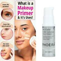 Phoera Face Primer Base Makeup Oil Control Skin Invisible Lines Pore NEW